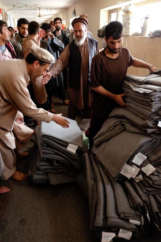 阿富汗喀布尔的普利查尔希监狱