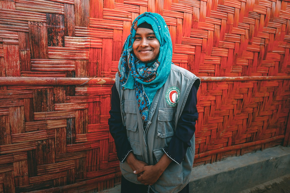 Hasmat - Red Crescent volunteer