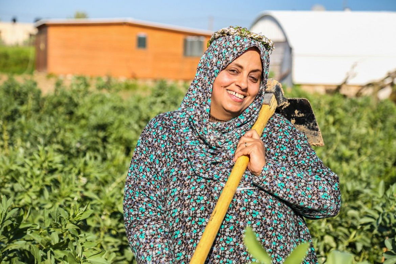 Basma Elnajjar, 44. Agricultora e mãe de seis filhos