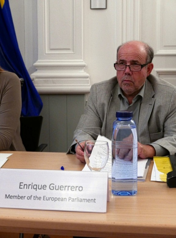 Enrique Guerrero, Standing Rapporteur on Humanitarian Aid of the European Parliament