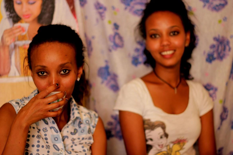 Milen e Selamawit Hagos, donas de café