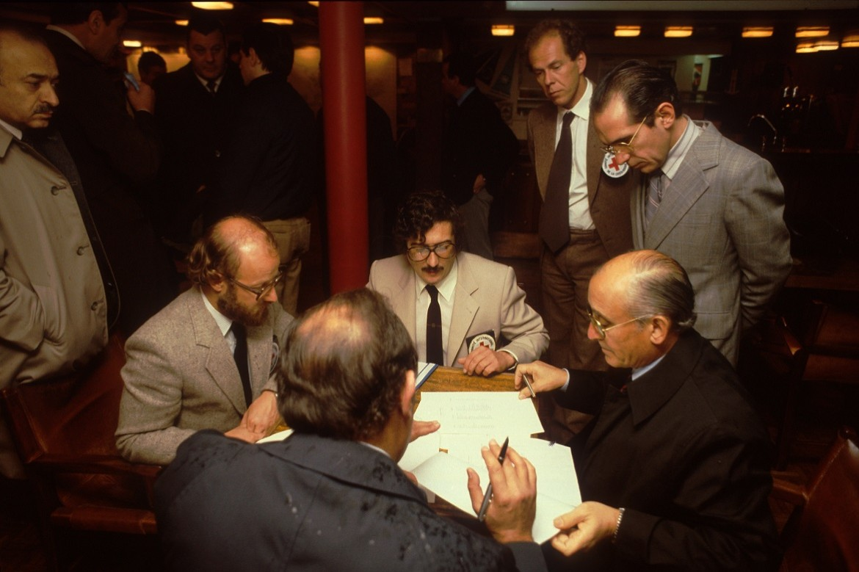1982: Entrega de prisioneiros de guerra argentinos