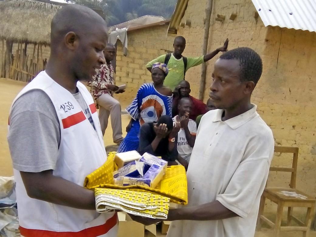 Kolobengou, Guéckédou, Guinea.