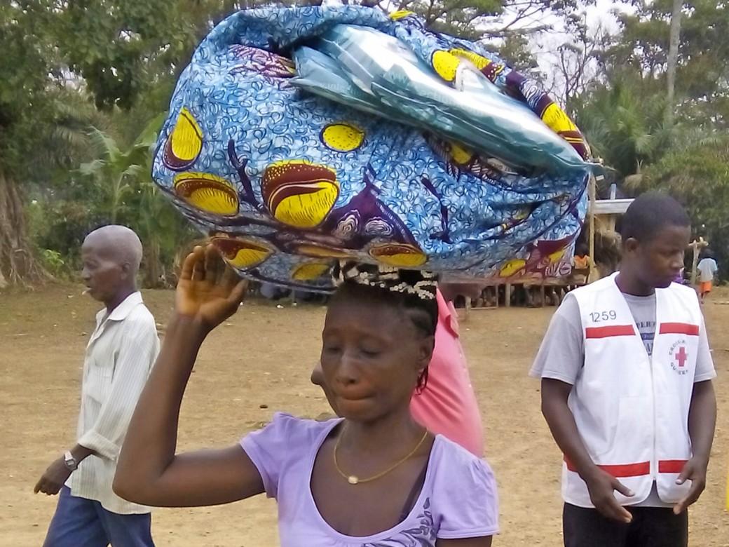 Guéckédou, Guinea.