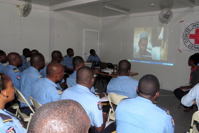 Prison civile de Port-au-Prince.