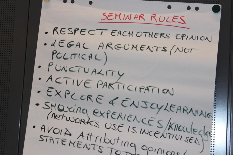 2015 advanced seminar in international humanitarian law for