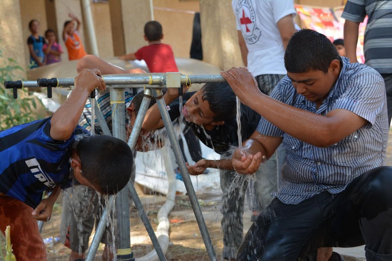 2014: pénurie d'eau