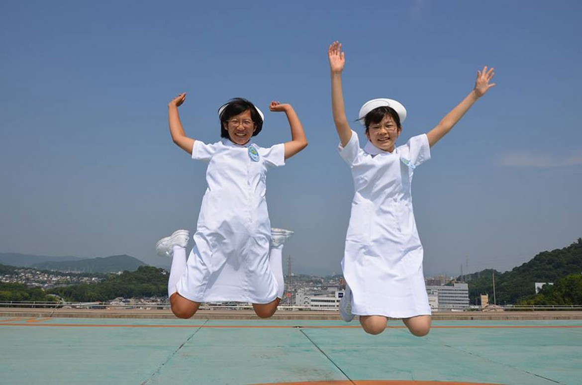 7:00 pm, Japan: Jump for joy!