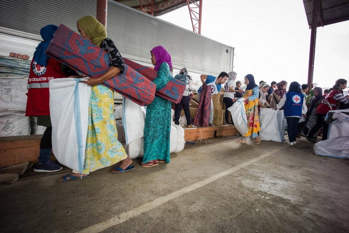 南拉瑙省萨吉阿兰疏散中心