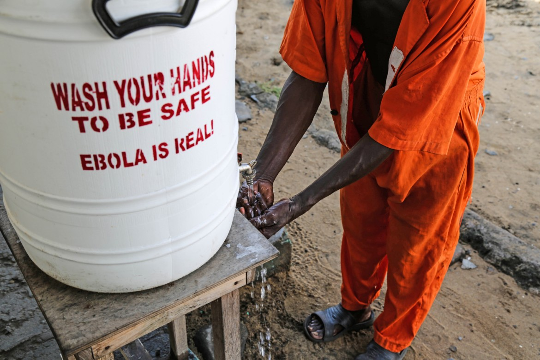Monrovia Central Prison, Liberia.