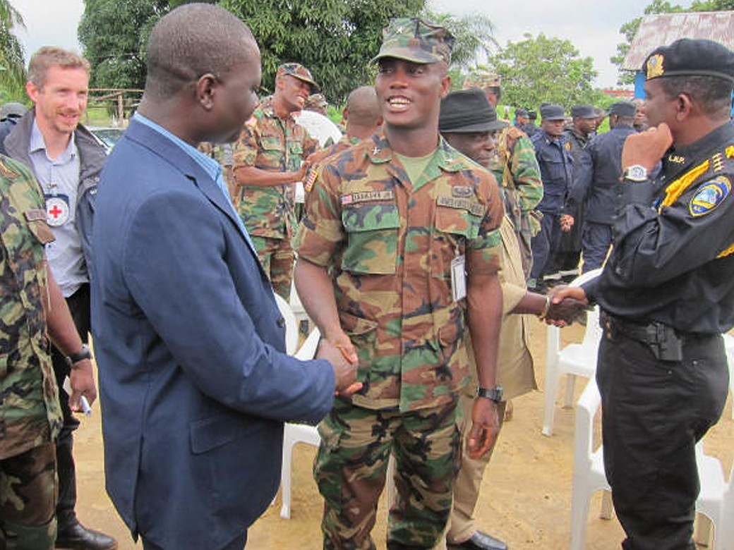 Liberia: Liberian Red Cross and ICRC join military exercise