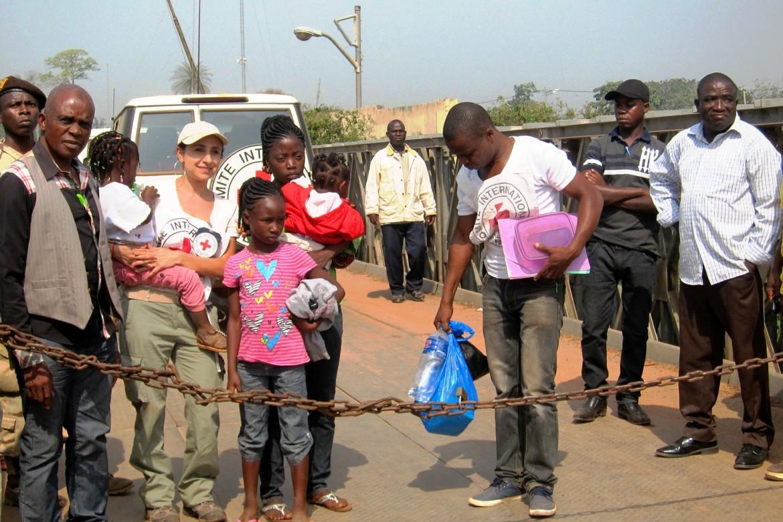 Frontera de Loguatuo, Nimba, Liberia