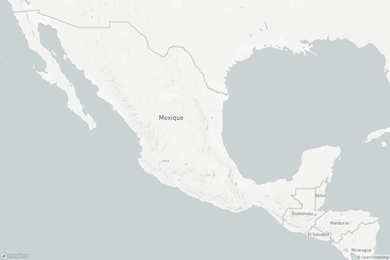 La route migratoire au Mexique et en Amérique centrale