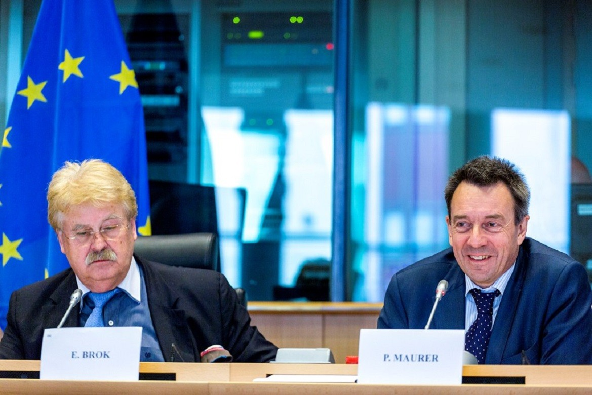 ICRC President Peter Maurer addresses the Foreign Affairs Committee of the European Parliament, 26 May 2015