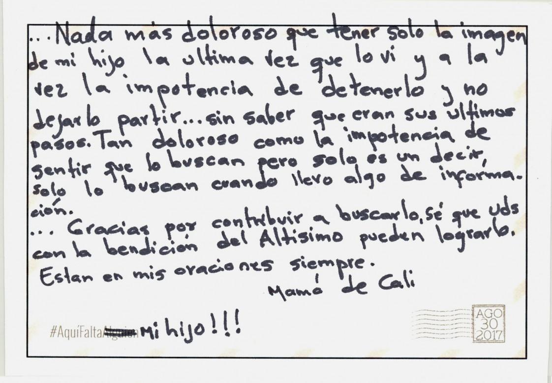 #AquíFaltaMiHijo