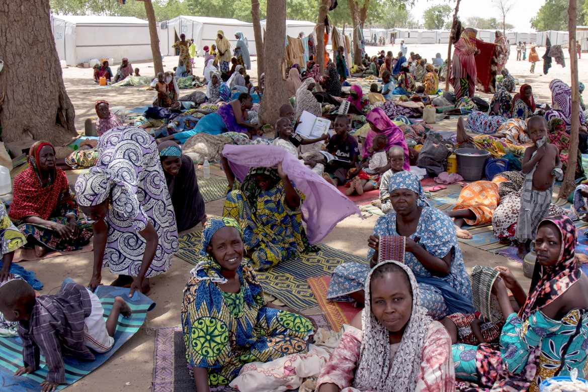The armed violence in northern Nigeria has left thousands of people dead and forced more than two million to flee their homes.