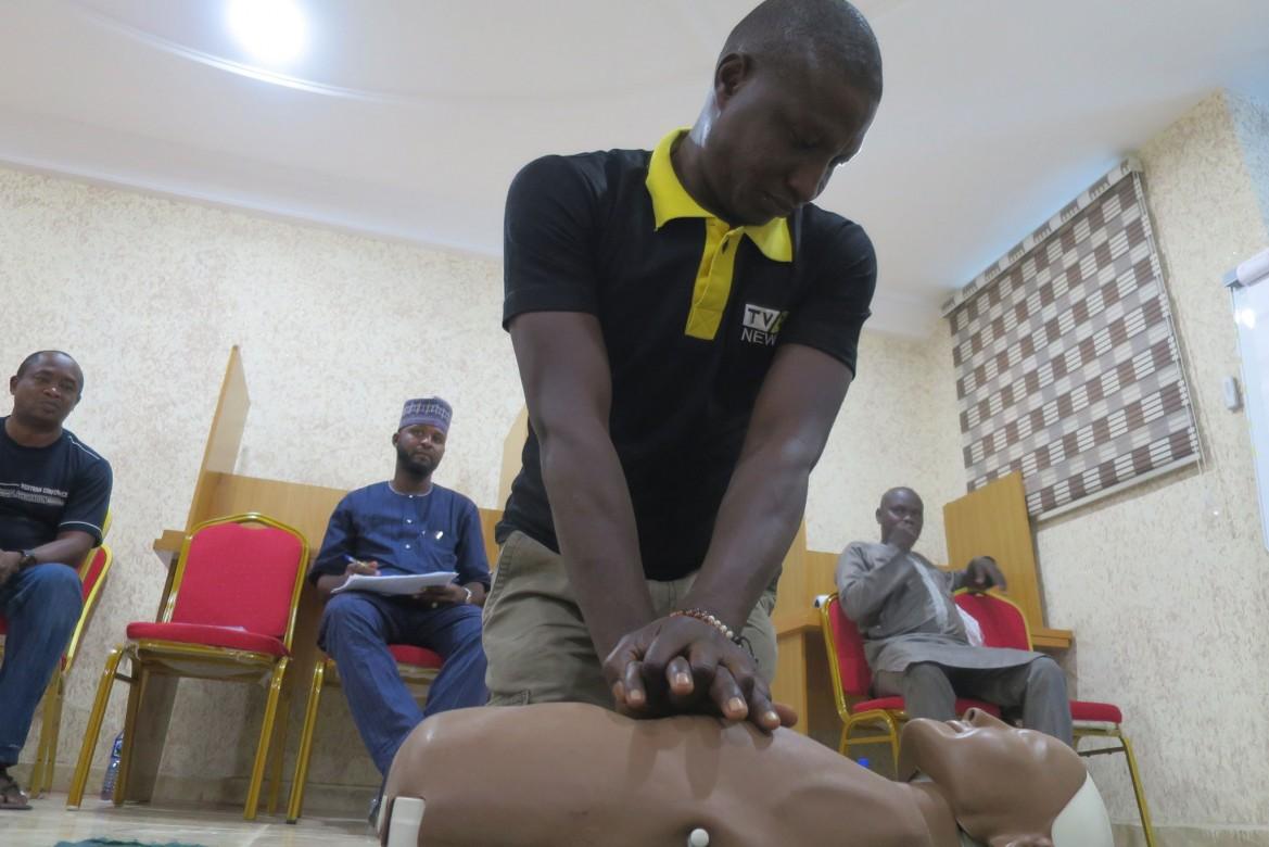 Julius Emmanuel: Veteran cameraman at TVC for past 15 years
