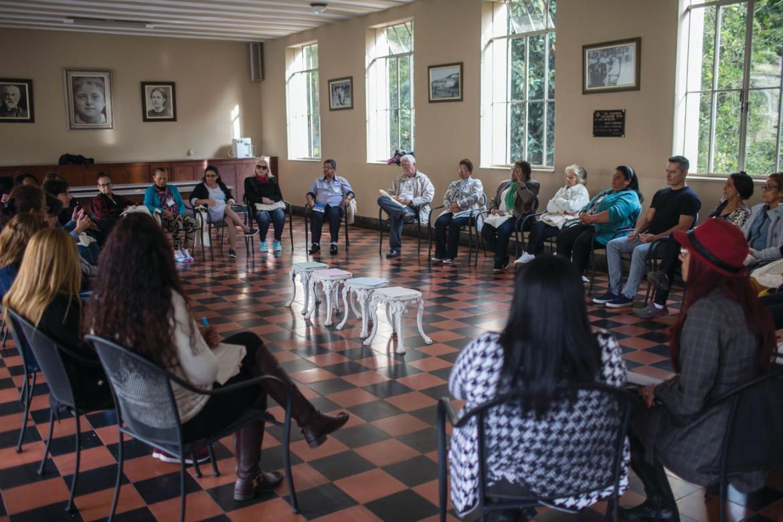 Dinâmica em grupo de familiares de pessoa desaparecidas na Avaliação de Necessidades em São Paulo