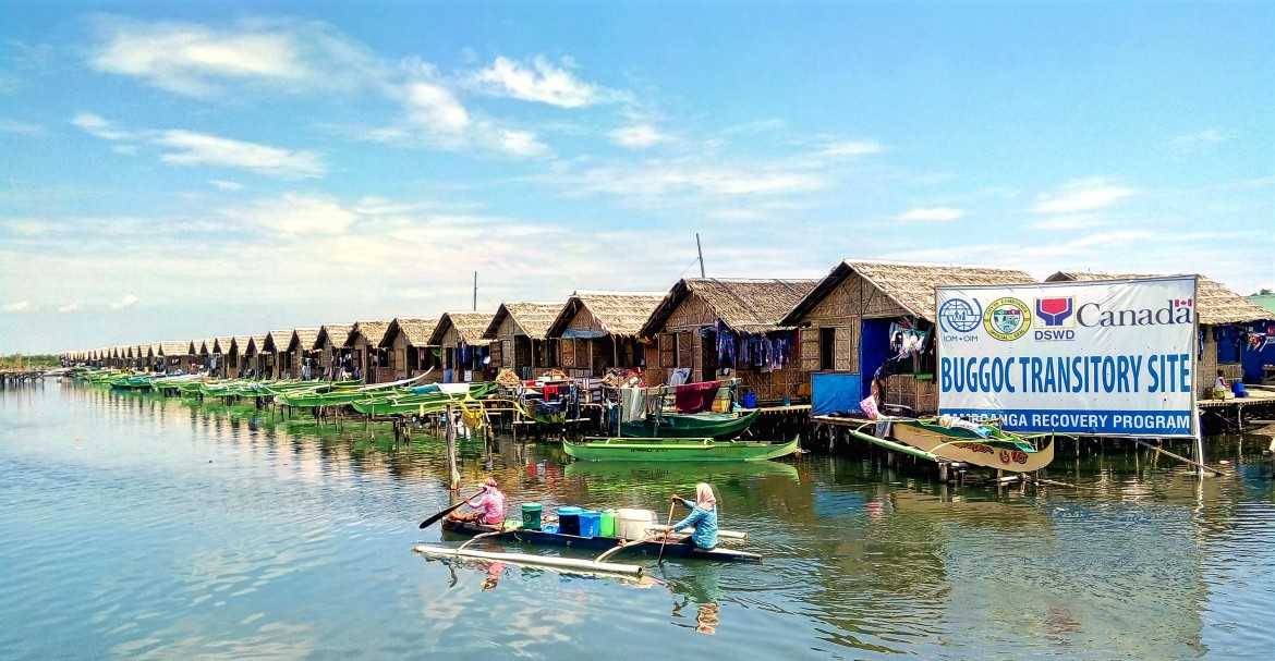 Similar to Masepla, the Buggoc transitory site has stilt houses that are connected by a series of boardwalks that serve as access to their respective dwellings. Due to exposure to various elements and daily foot traffic, these boardwalks deteriorated and were subjected to major repairs to prevent causing injuries and accidents to residents.  Photo by: ICRC/R. Ang