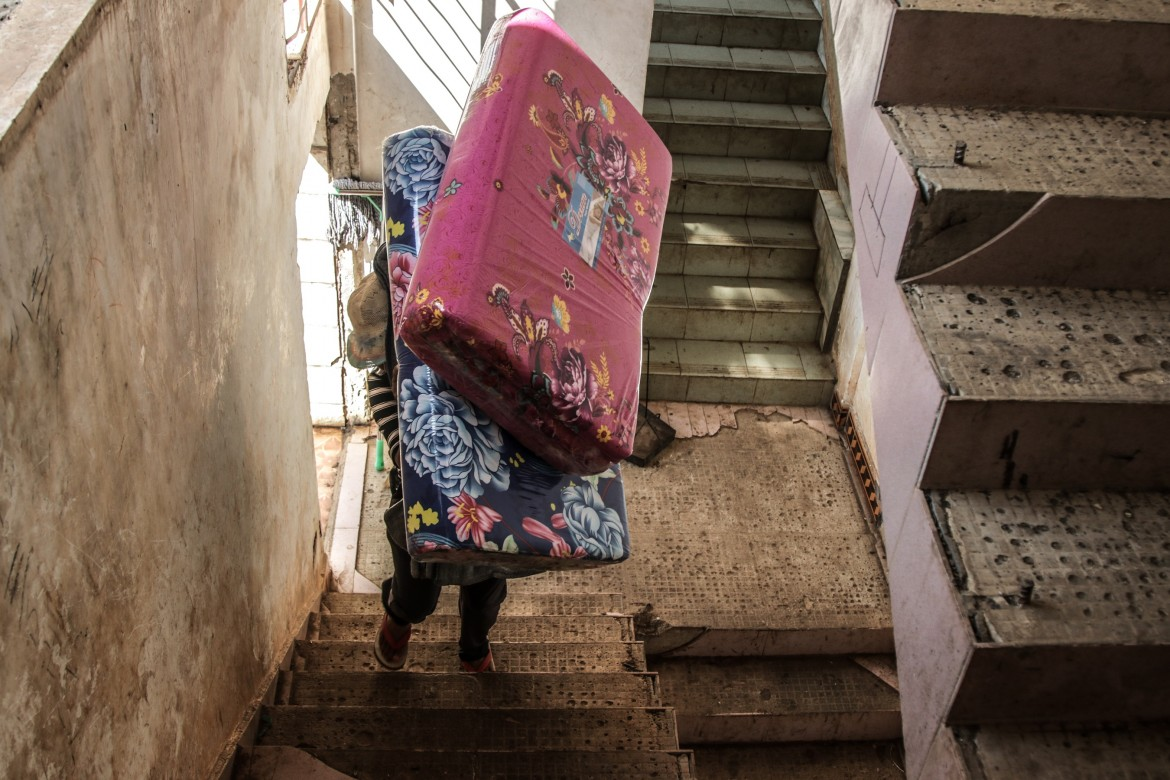 Blankets and mattresses are essential for the locals of Laukkhaing Township to get through the harsh winter.