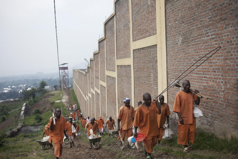 Prison de Rubavu, Rwanda, 22 juillet 2014.