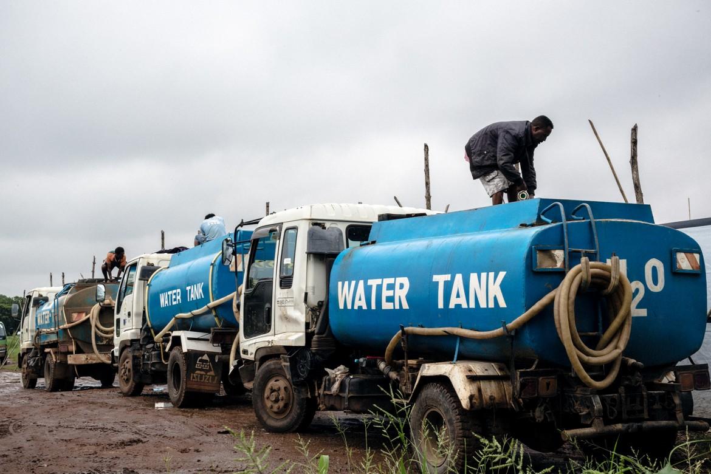 Station de traitement des eaux du CICR, Lologo, Juba, Soudan du Sud.