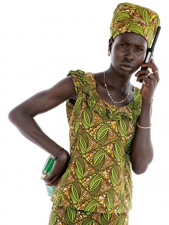 Nyanchan Maluol Mot, 19 years old, from Akobo, South Sudan