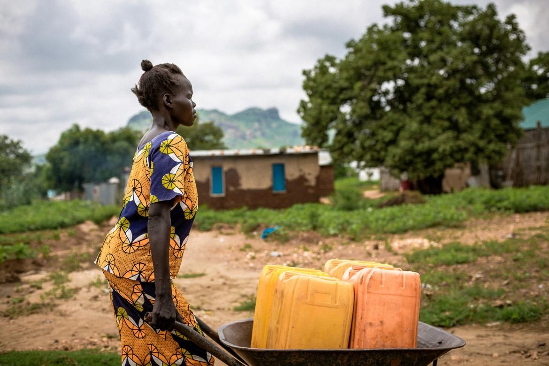 南苏丹,朱巴。