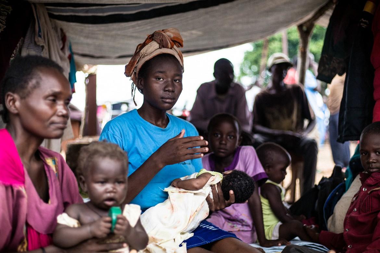 南苏丹,瓦乌城外的比林吉。