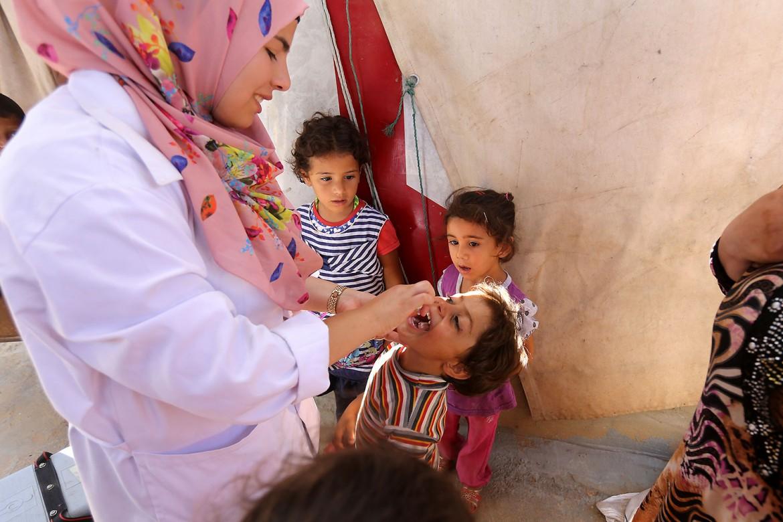 """لاجئين سوريين في منطقة """"الساحل"""" في عكار، شمال لبنان"""