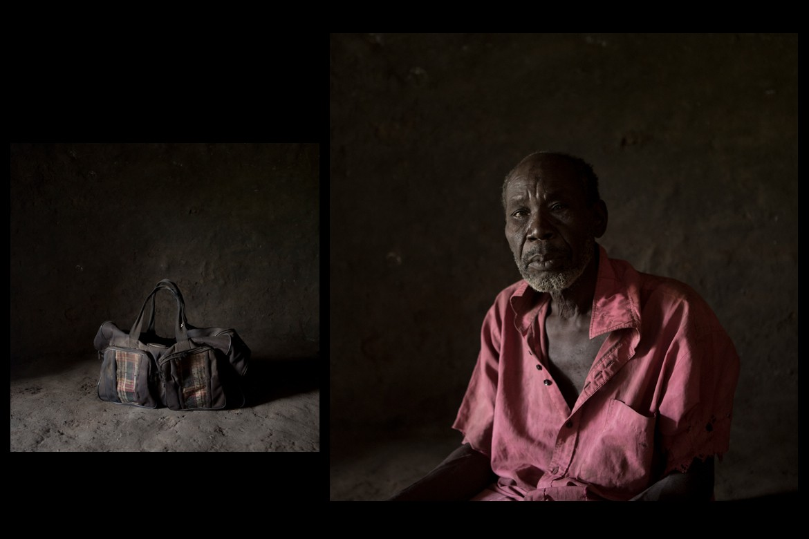 Justo Okot, 72-year-old.