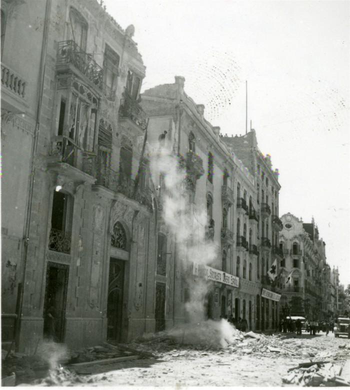 Guerra civil española, 1936-1939.