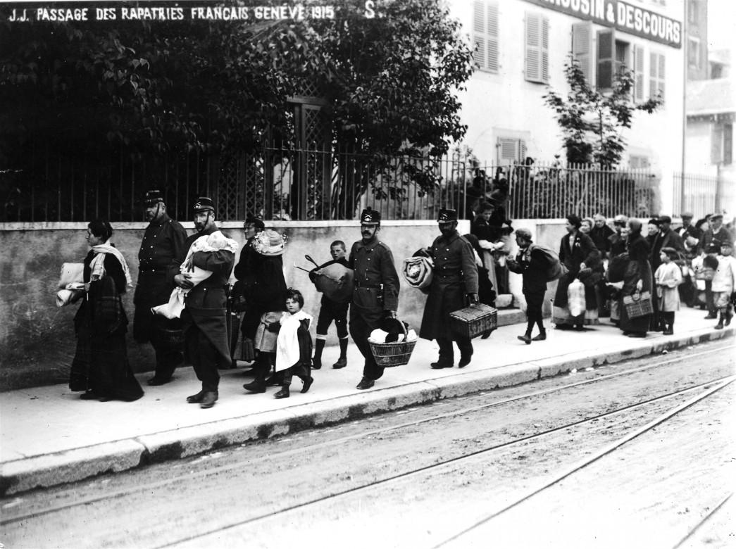 Первая мировая война 1914-1918 гг.  Швейцария. 1915 г.