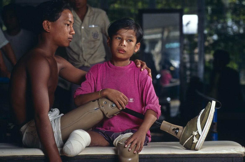 1997年:禁止杀伤人员地雷