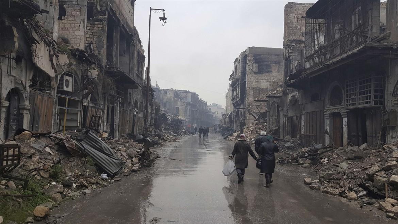 阿勒颇的毁灭