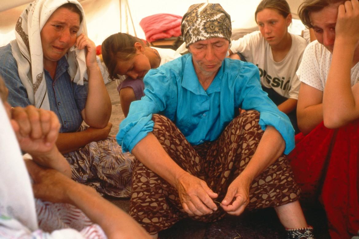 Tuzla, Bosnie-Herzégovine, 1er juillet 1995.