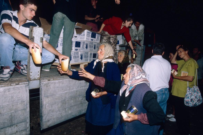 1995年8月17日,波黑比耶利纳(Bijeljina)。