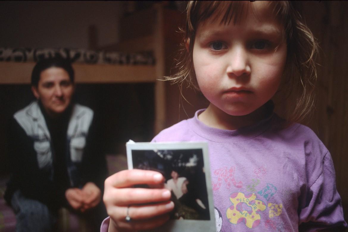 توزلا، البوسنة والهرسك، كانون الثاني/ يناير 1997 .
