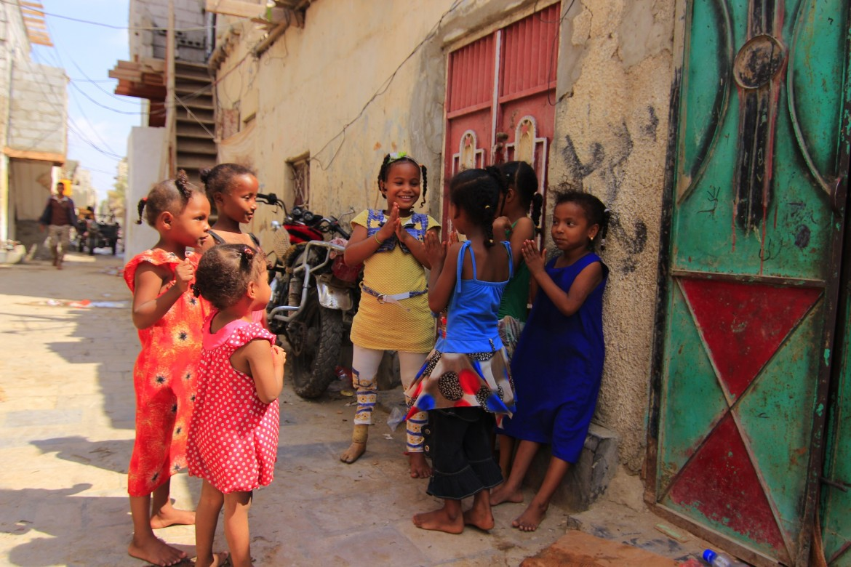 来自也门亚丁、8岁的萨米亚·马希尔·陶菲克
