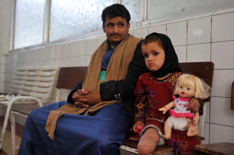 Centro de rehabilitación física, Saná, Yemen.