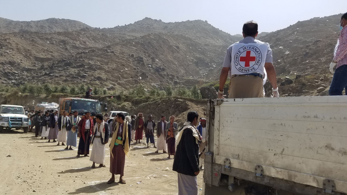 Yemen - In March 2020 as COVID-19 was recognised as a global pandemic by WHO, the ICRC had to adjust our ways of reaching communities affected by conflict