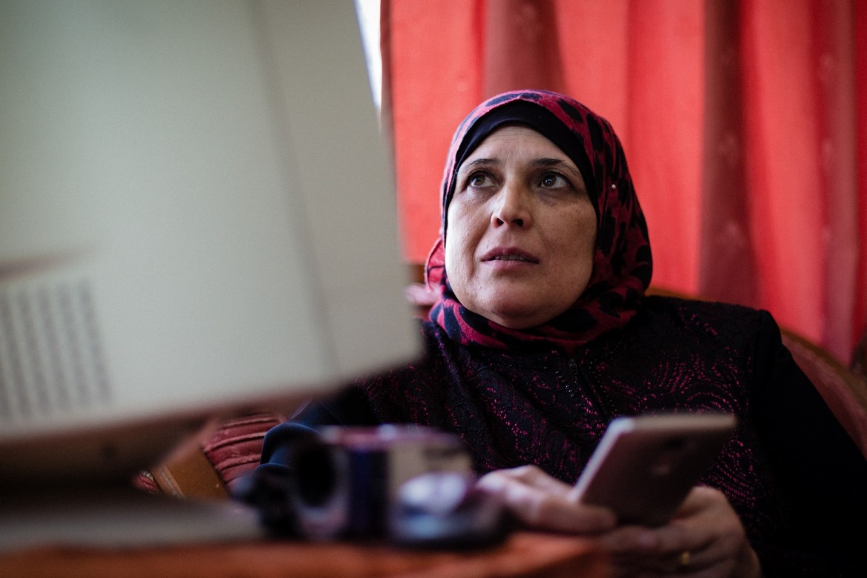 Rima Abu Eisha, Hebron