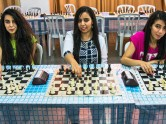 The Jihad Fakieh sisters are all keen chess players.