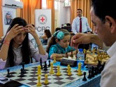 Yara Fakieh (17) comes from Qattana and is a member of the chess team that represents Palestine in international tilts. She participated in the world championships in Turkey in 2012 and Norway in 2014.