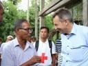 """访问缅甸和孟加拉国之后,红十字国际委员会主席彼得·毛雷尔表示:""""这是个双输的局面"""""""