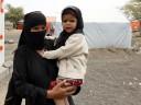 Personas desplazadas en Yemen, donde las necesidades siguen en aumento