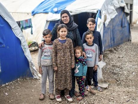 Campaña para brindar ayuda en Irak