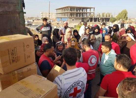 Apelo de fundos para a crise na Síria