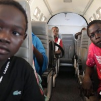 Nigeria: niños refugiados se reencuentran con sus familiares