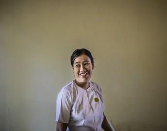 Asistencia de salud en zonas rurales de Rakhine, Myanmar: con la perspectiva de la coexistencia
